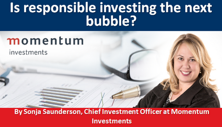 Is responsible investing the next bubble?