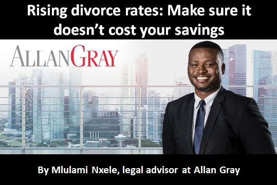 Rising divorce rates: Make sure it doesn't cost your savings