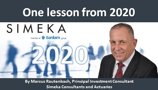 One lesson from 2020