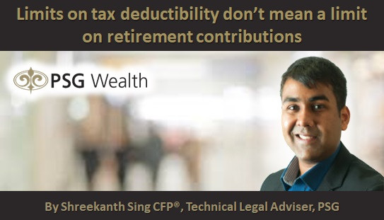 Limits on tax deductibility don't mean a limit on retirement contributions
