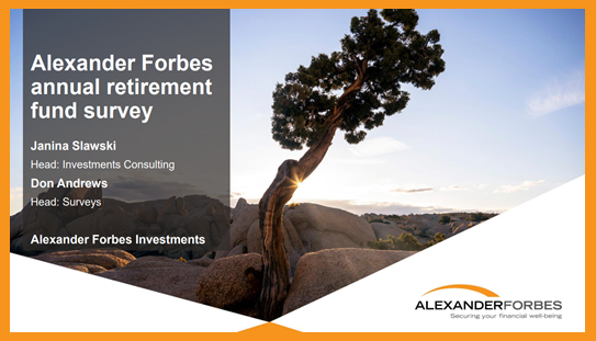 Alexander Forbes releases 2020 Manager Watch™ Survey of Retirement Fund Investment Managers