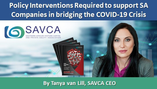 Policy Interventions Required to support SA Companies in bridging the COVID-19 Crisis