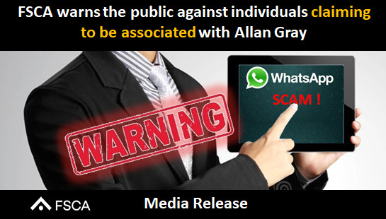 FSCA warns the public against individuals claiming to be associated with Allan Gray