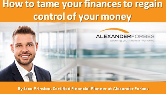 How to tame your finances to regain control of your money