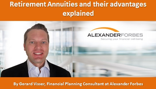 Retirement Annuities and their advantages explained