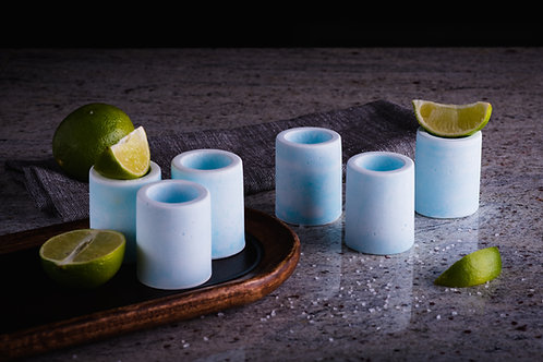 Salt Crystal Shot Glasses