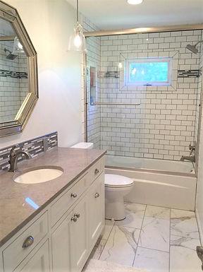 Lenexa Double Bathroom Renovation