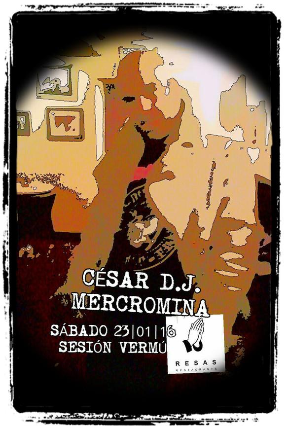 Este sábado, 23 de Xaneiro pincharei na Sesión Vermú do Resas Restaurante, en Santiago de Compostela