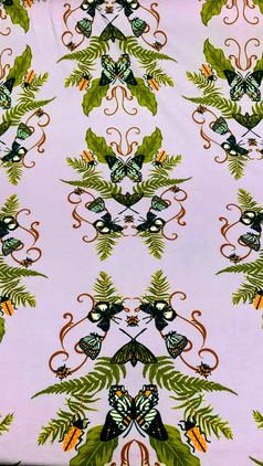 Viscolycra MVS Thirty Plus Reativo - 8502 - Flores Dançantes