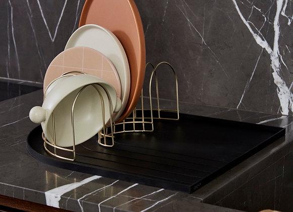 Dish tray & drainer