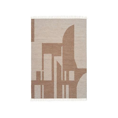 Contemporary Kelim- Brown