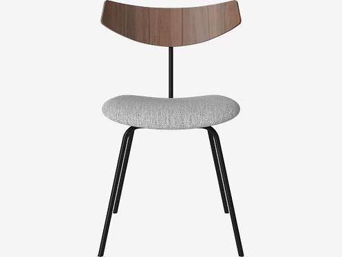 Bird chair upholstered