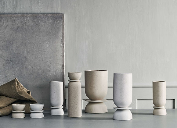 Hour vase- Large white