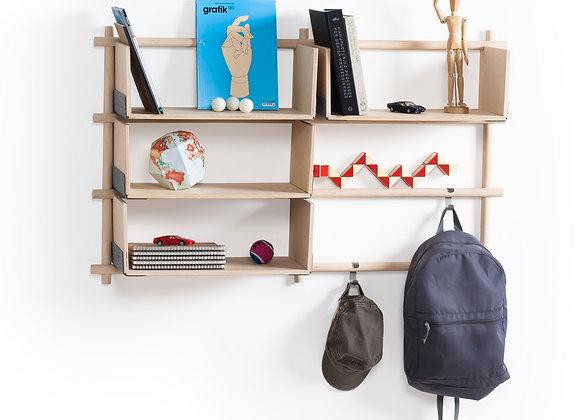Foldin shelves 6/4