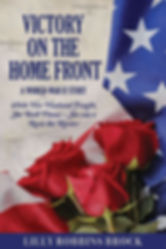 book, book cover, victory on the home front,world war 2, world war II, lilly robbins brock, author