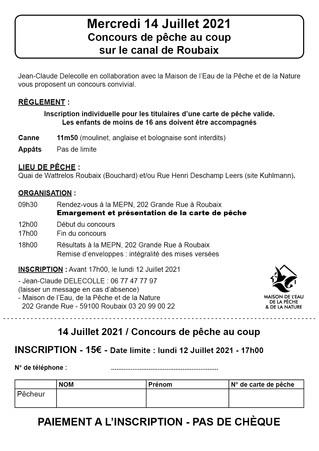 Concours Delecolle 14 juillet