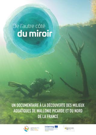 """Notre film """"De l'autre côté du Miroir"""" ! Action réalisée en partenariat avec le Contra"""