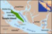 Texada Island location