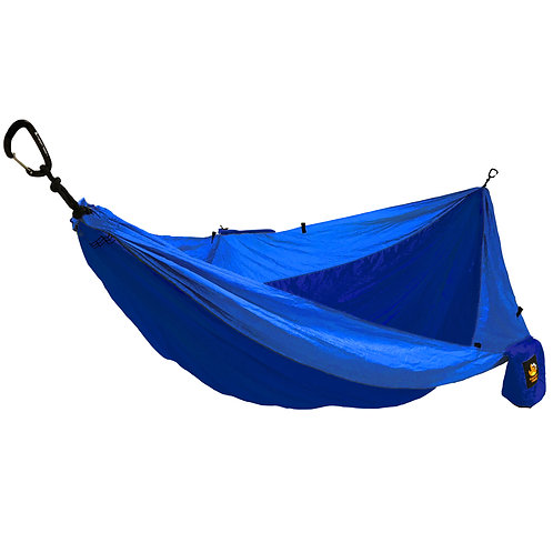 HANGEASY DOUBLE HAMMOCK NAVY BODY/ROYAL SIDES