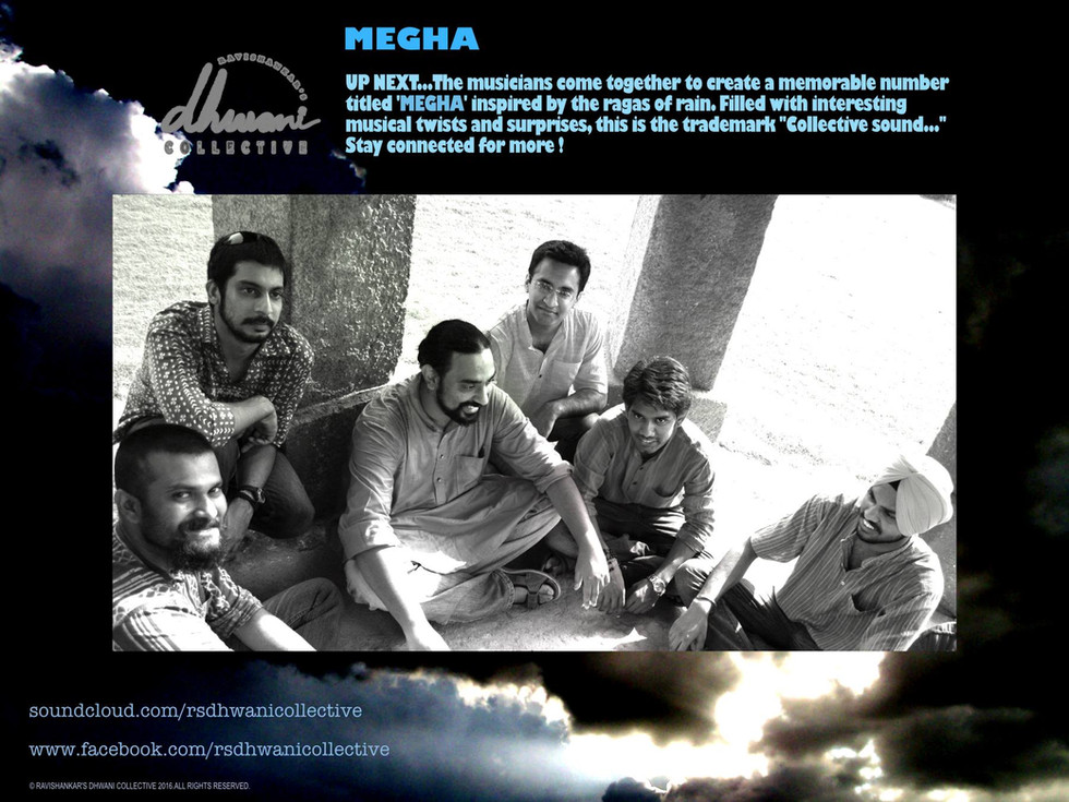 FOURTH SONG 'MEGHA' SESSIONS IN    PROGRESS