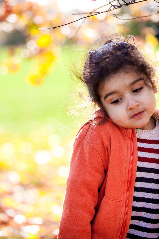 Kids Autumn Shoot - Golden Acre Park