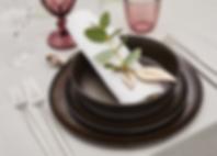lej keramik hos tablesetting serviceulejning