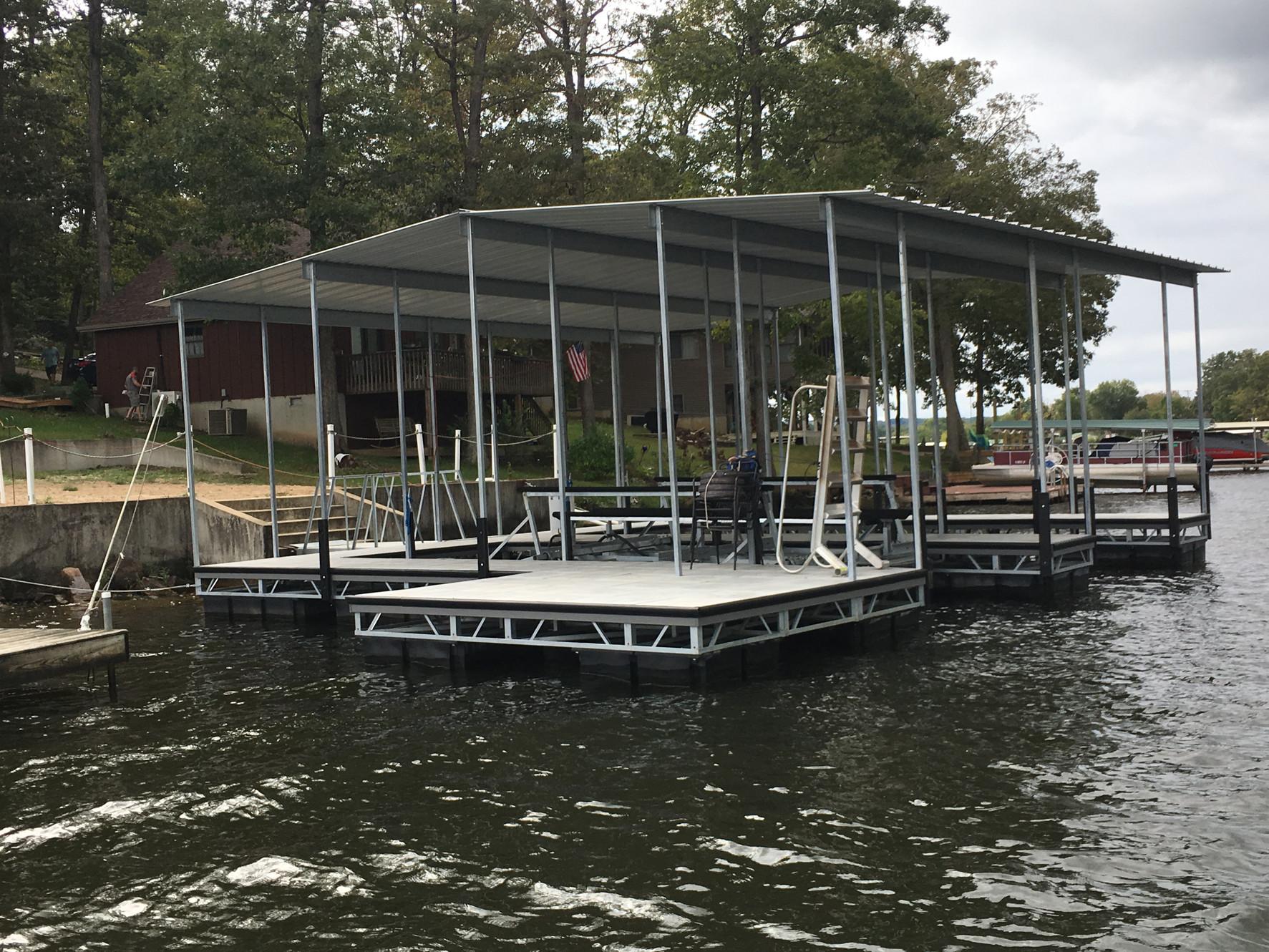 Floating Boat Dock Builders, Dealers and Repair | Midwest Docks