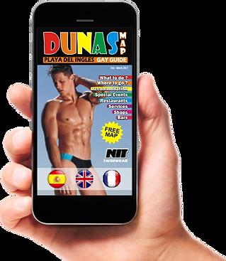 Application Dunas Map