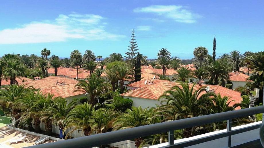 Playa del Inglés (Gran Canaria) Vues à partir de l'appartement (Maspalomas).