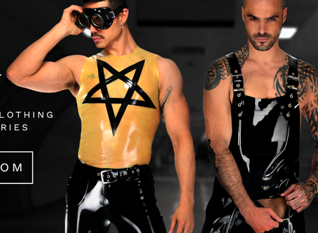 Discover LIBIDEX, british designer and maker of latex clothing for men