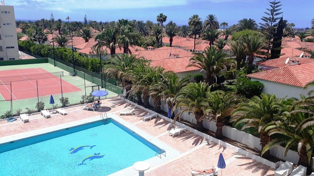 Appartement à louer à Playa del Inglés (Maspalomas), deux pièces avec balcon terrasse, tout confort, tout équipé, emplacement idéal, vues spectaculaires.