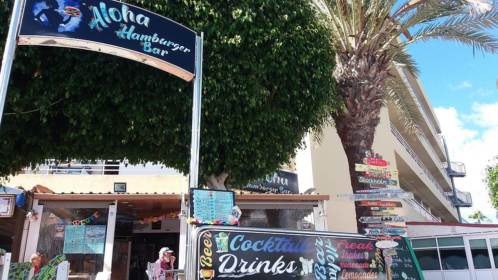 Pour les amateurs de bonne bouffe à petit prix dans une ambiance de surf.