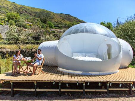Dormir à la belle étoile dans une bulle transparente à Gran Canaria