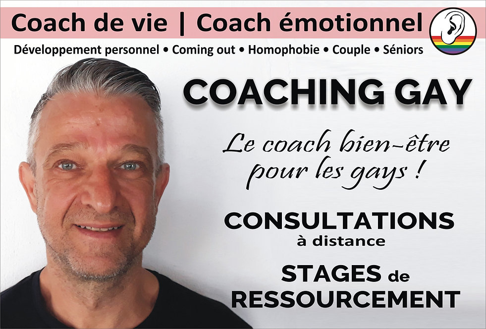 Coach de vie pour hommes gay