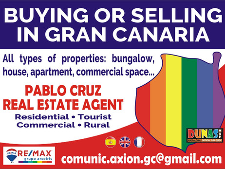 Wanna buy, sale or rent a property in Gran Canaria ?