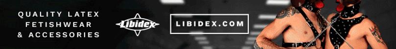 Libidex Latex Clothing Banner
