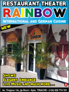 Rainbow, restaurant theatre