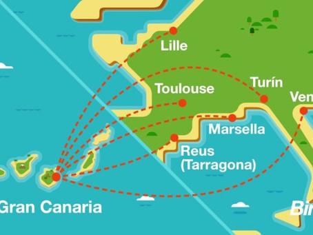 Quatre nouvelles liaisons aériennes entre Gran Canaria et la France