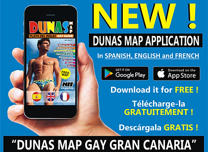 Gay Gran Canaria | Gay Maspalomas | Dunas Map App