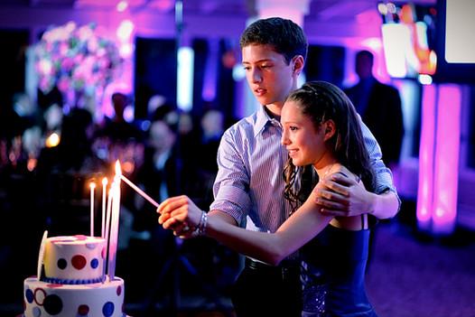 Mitzvah Candle Lighting