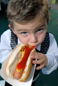 Mitzvah hot dog!