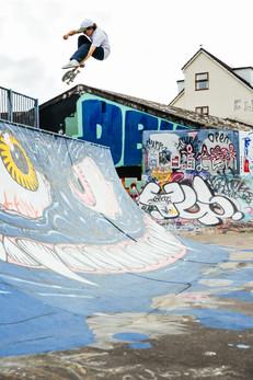 Toby Ryan Kickflip Stalefish Dean Lane Skatepark Bristol