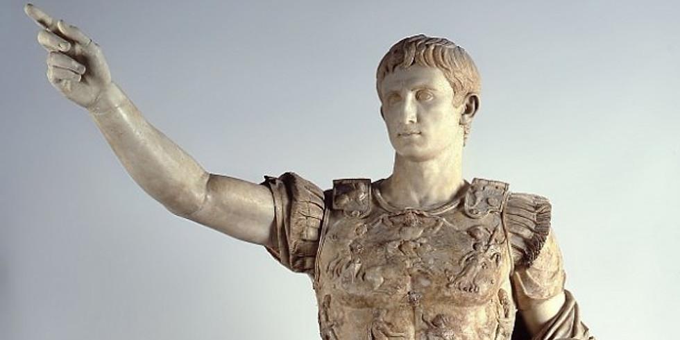 CANCELED Lecture - Augusto, Re di Roma