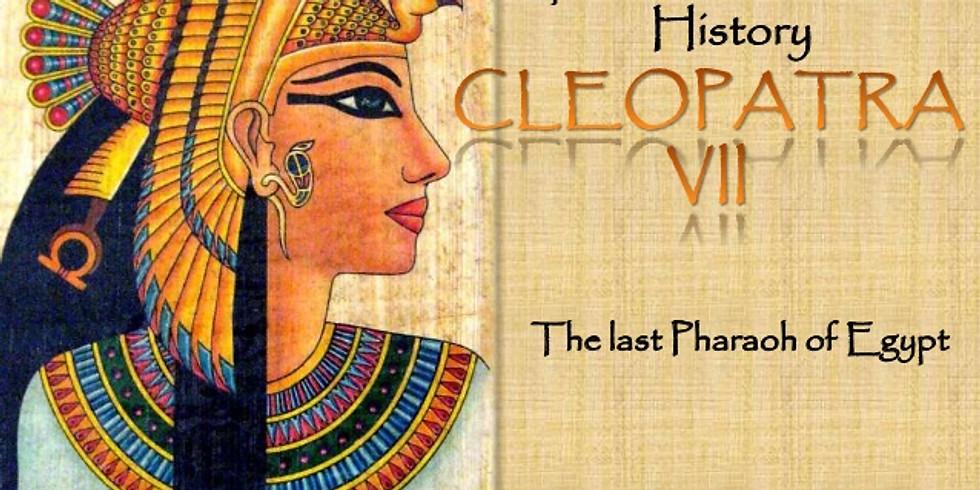 CANCELED Lecture - Cleopatra VII, Regina d'Egitto