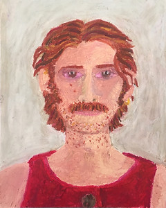 self-portrait in red, 2020