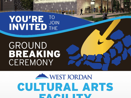 Groundbreaking scheduled for new West Jordan cultural arts facility
