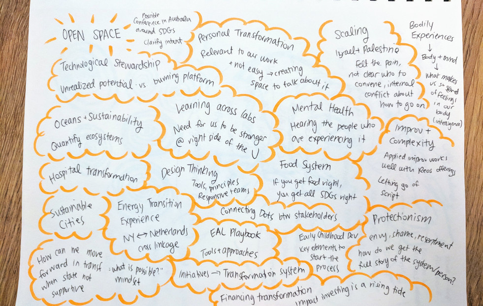 Open Space Sessions