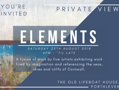 Elements Summer Show August 25th -31th