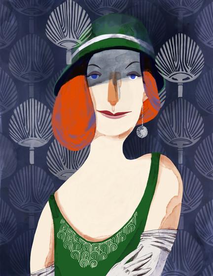 Floreuce Broadhurst Portrait