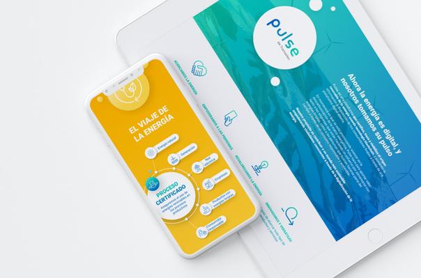 Diseño UX Pulse energía